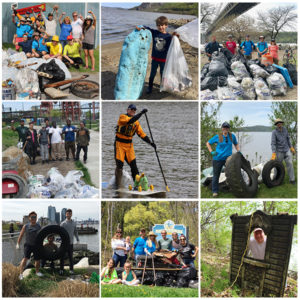 Riverkeeper Sweep 2018 results: 2,200+ volunteers clear 36 tons of trash & 194 tires in a day