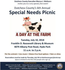 Dutchess County to Host 6th Annual Special Needs Picnic