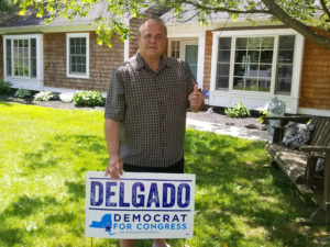 Delgado Endorsed by RichardAbbate, Former Chair of Otsego County Democrats