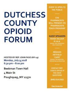 Dutchess County Opiod Forum