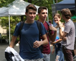 DCC Students Welcomed to Campus with FalconFest