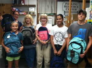 Saturday, August 11th was Back Pack Stuffing Day at the Pawling Resource Center.