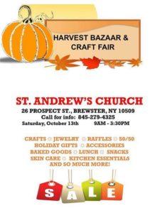 St. Andrew's Church Harvest Bazaar & Craft Fair