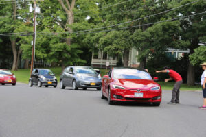 Over 150 Participants, Over 35 Electric Vehicles Joined in New Paltz Zero Emissions Parade (ZEP) and Green Vendor Fair
