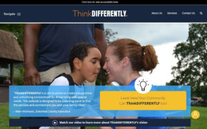 "Dutchess County Government Nationally Honored  for ""ThinkDIFFERENTLY"" Website"