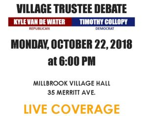 Village of Millbrook Trustee Debate