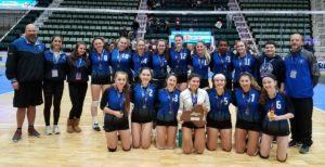 Millbrook Volleyball Team Places Second in New York State Finals
