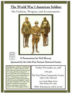 Historical program in Pine Plains on Nov. 30