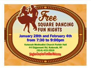 """""""Free Square Dancing Fun Nights"""""""