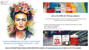 """""""Art from the Heart"""" Free Art Therapy Sessions"""