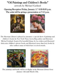 Oil Paintings and Children's Books art by Michael Garland