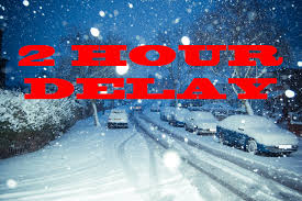Arlington, Dover, Millbrook, Pawling, Webutuck Schools are on 2 hour delays