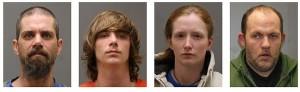State Police in Catskill arrest four in drug investigation