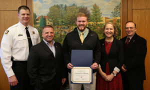 DCC Student Earns Sheriff's Association  Criminal Justice Scholarship