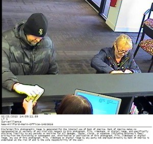 New Milford police search for bank robber