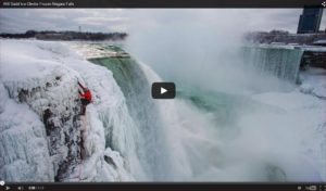 Watch Will Gadd's historic ascent of the mighty and majestic Niagara Falls