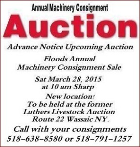 Floods Annual  Machinery Consignment Sale