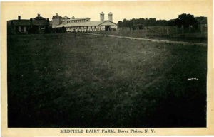 Postcard – Medfield Dairy Farm, Dover Plains, New York – circa 1916