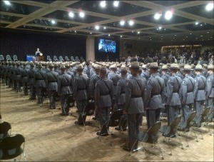 226 new Troopers graduate from the 202nd  graduation session of the New York State Police Academy
