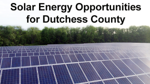 Solar and Energy Initiatives to be Spotlighted in State of County Address