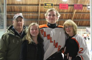 Pawling Hockey Senior Night