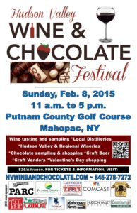 2nd Annual Hudson Valley Wine & Chocolate Festival