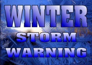 Winter Storm Warning – Heavy Snow Expected