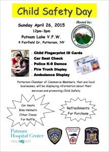 Child Safety Day in Patterson on Sunady, April 26th