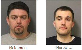 Two Dutchess County men charged following Westchester County larceny complaint