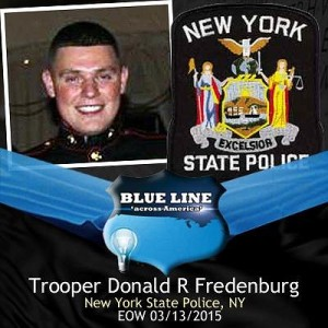 UPDATE: State Police announce on-duty death of Trooper Donald R. Fredenburg