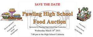 Pawling High School Peer Leadership Food Auction