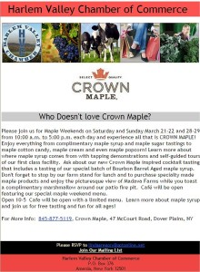 Who Doesn't love Crown Maple?