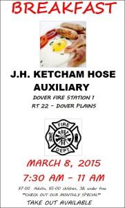 J.H. KETCHAM HOSE  AUXILIARY BREAKFAST