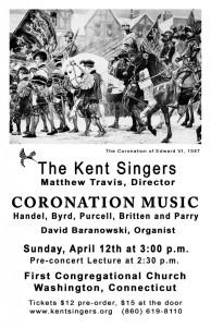 Kent Singers To Present English Coronation Music