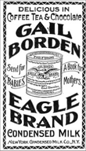 History: Borden's Milk from Wassaic was provided to a Union soldier's rations