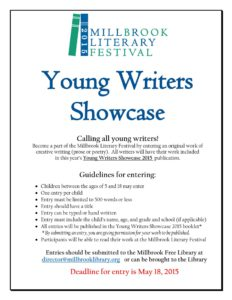 Calling all young writers!