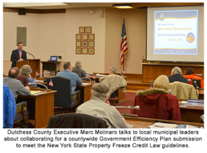 Dutchess County hosts Government Efficiency Plan Workshop for Local Municipalities