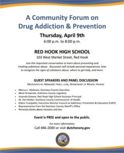 Community Forum on Prescription Drug & Opiate Abuse Prevention