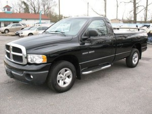 A vehicle similar to this Dodge pickup truck may have fled the scene of the fatal hit and run in Amenia
