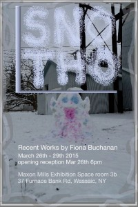 """""""Sno Tho"""" at the Maxon Mills Exhibition space"""