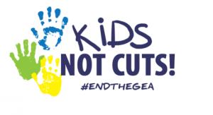 Kids, not cuts!