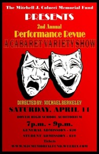THE MITCHELL J. COLUCCI MEMORIAL FUND PRESENTS: THE 2ND ANNUAL PERFORMANCE  REVUE