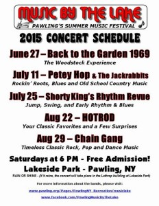 Music By The Lake Concert Schedule