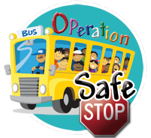 New York State Police participate in Operation Safe Stop 2015 today