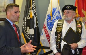 Dutchess County receives POW/MIA Chair of Honor in remembrance of County veterans
