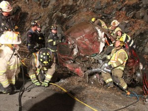 Interstate 84 crash being investigated by State Police