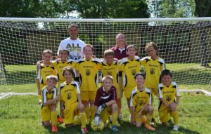 Youth Soccer tryouts in the Town of Beekman.