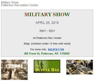 Military Show at Patterson Rec!!