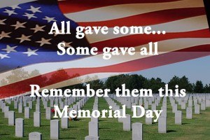 A MEMORIAL DAY APPEAL