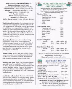 Lakeside Park Memberships – On Sale Now!